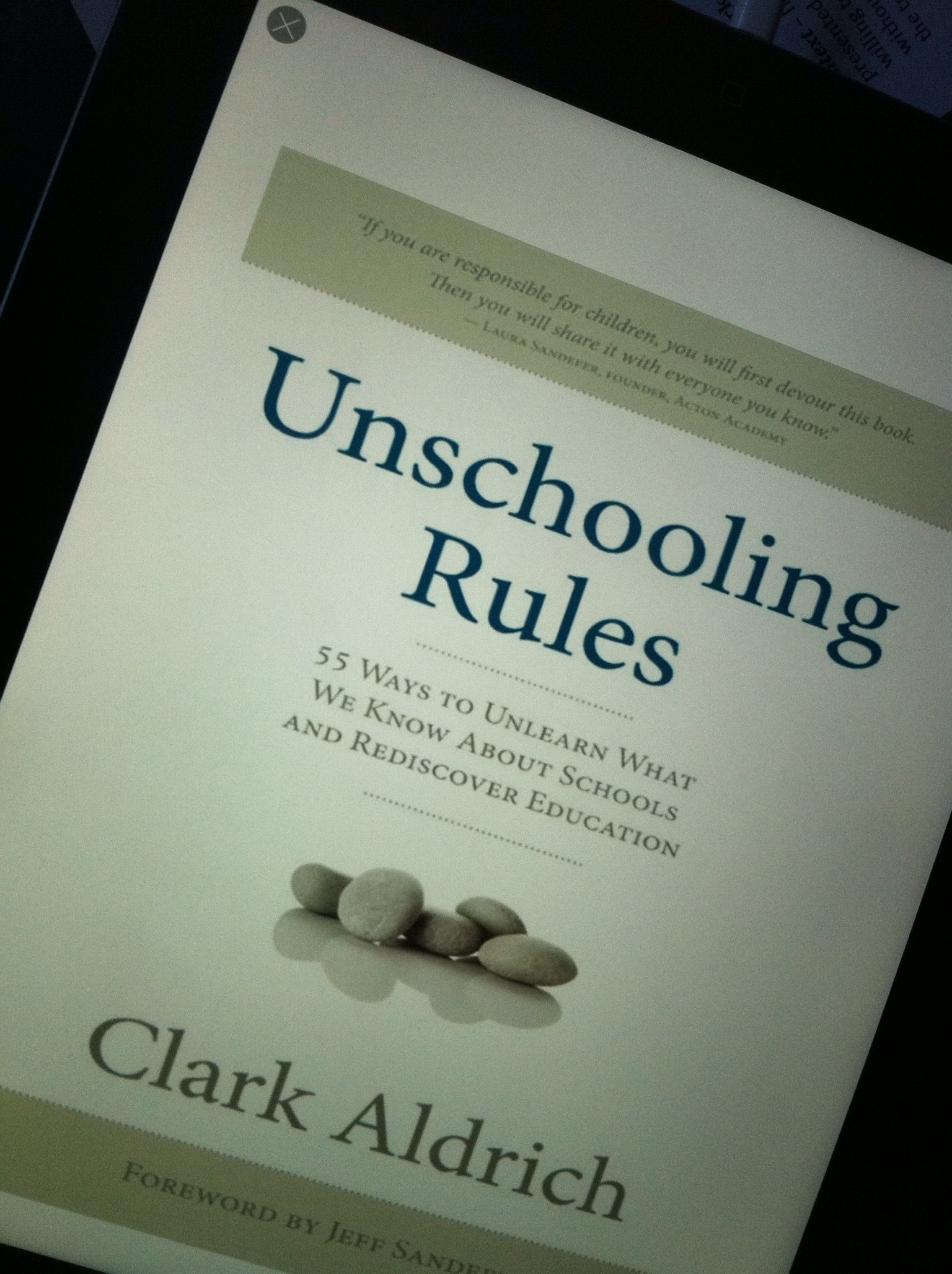 unschooling rules photo